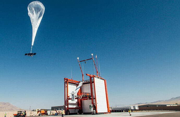 Highly Specialized Solar Panels - Loon Balloon