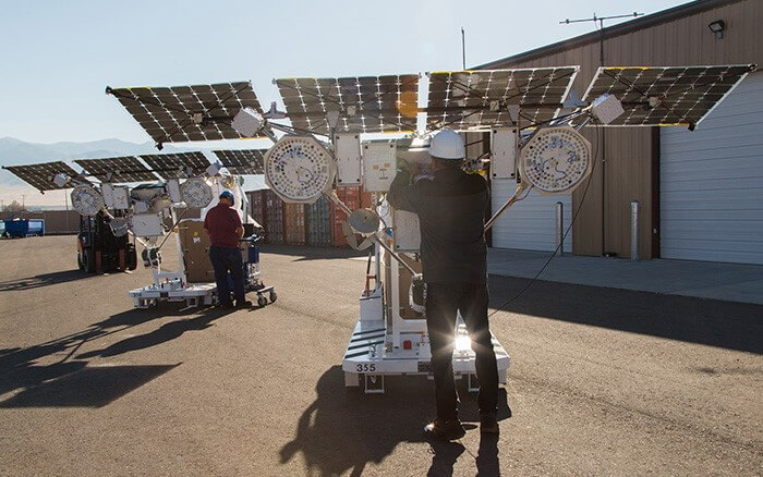 Highly Specialized Solar Panels Project Loon