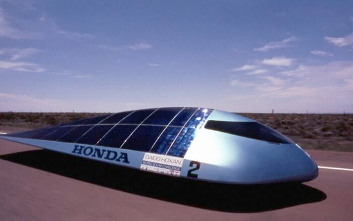 Honda 2 Using Maxeon Solar Cells Technology