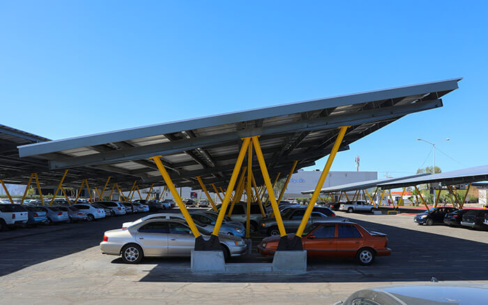 Renewable Solar Energy Carport