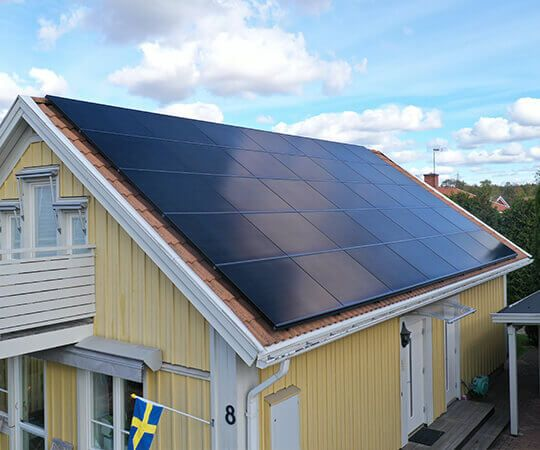 Maxeon Solar Panels Sweden House