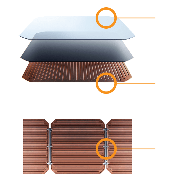 Maxeon Solar Cell Diagram