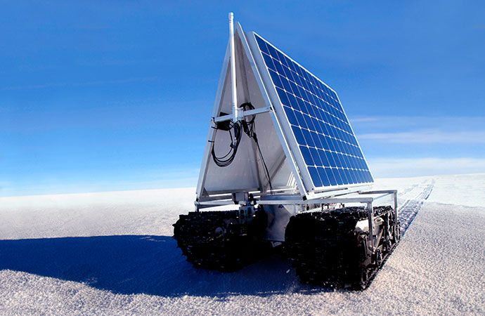 NASA Grover Pioneer powered by Maxeon solar cells