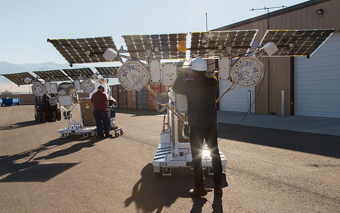 Project Loon met SunPower-zonnecellen