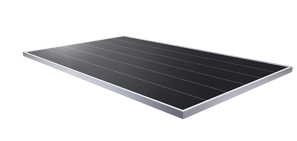 SunPower Performance 3 solar panel, flat angle view