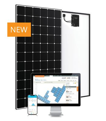 SunPower Maxeon 5 AC Module with Enphase microinverters and Enlighten app