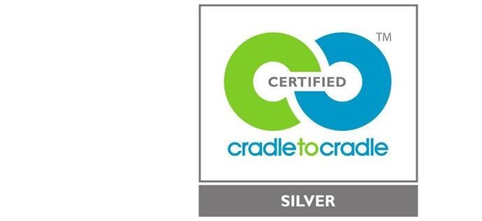 cradle to cradle silver certified logo
