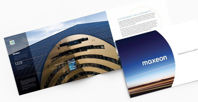 Maxeon corporate brochure