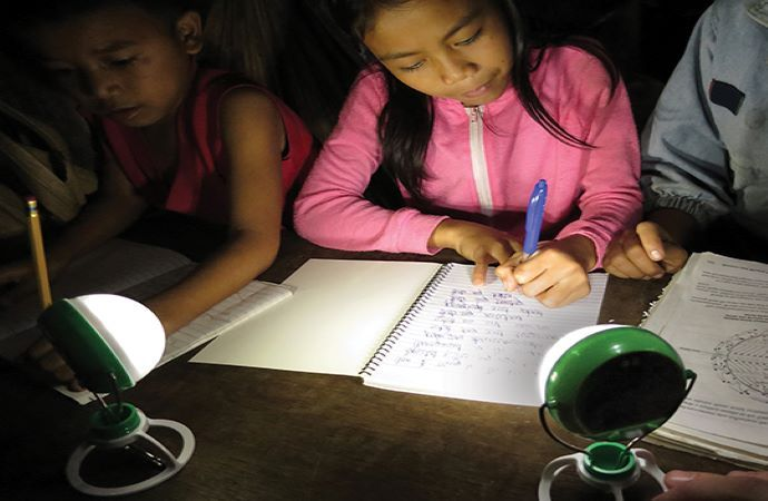Light for the World solar lanterns