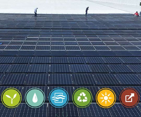 SunPower Fab 4 LEED solar panels