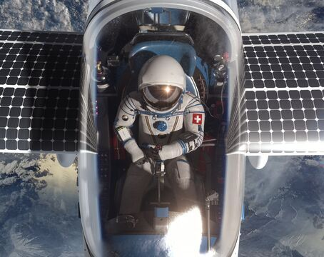 Raphael Domjan, SolarStratos Eco-Explorer flying Solar Stratos plane