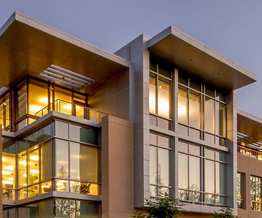 LEED Gold Certified green building