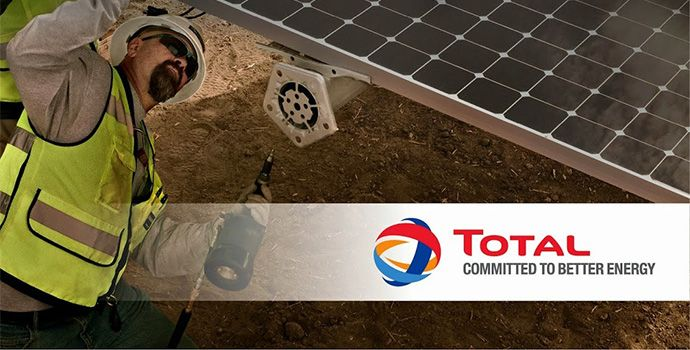 TOTAL and SunPower partnership