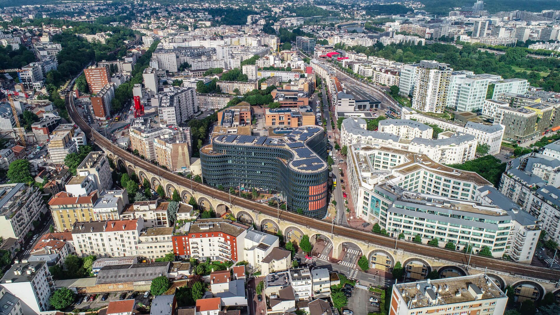 First Green Building in France Beissy