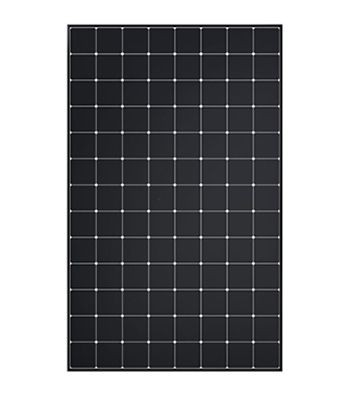 SunPower Maxeon solar panel with white backsheet