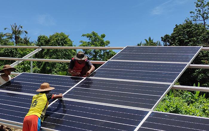 Myanmar Solar Installation