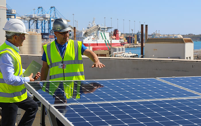 Maxeon Solar Panels Installation on Malta Based Oil Tanker