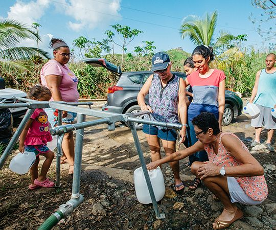 Solar Water Solutions - Water Mission returns safe water to Puerto Rico