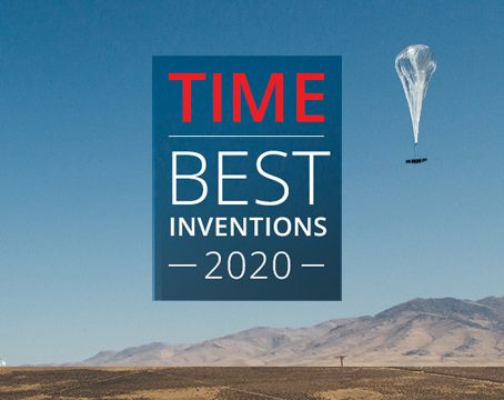 Solar Pioneer, LOON, best inventions 2020 TIME Magazine