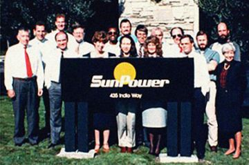SunPower team in 1990