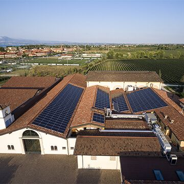 SunPower Solar Energy Company Installed Solar Panels at Winery in Italy