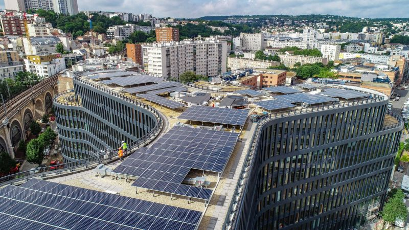 First Green Building in France Beissy Teaser