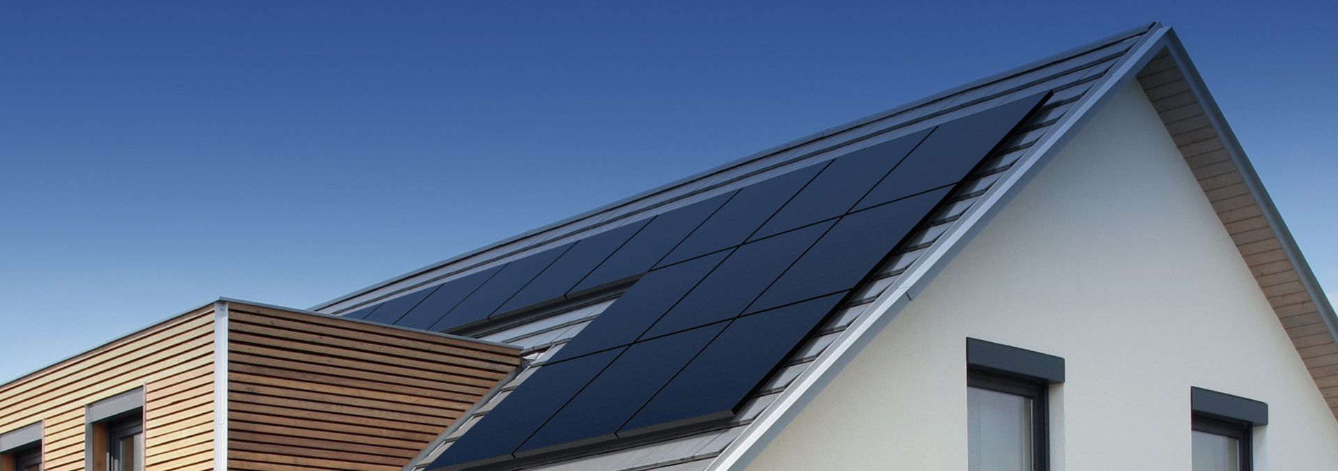 rooftop solar panels on an Australian home