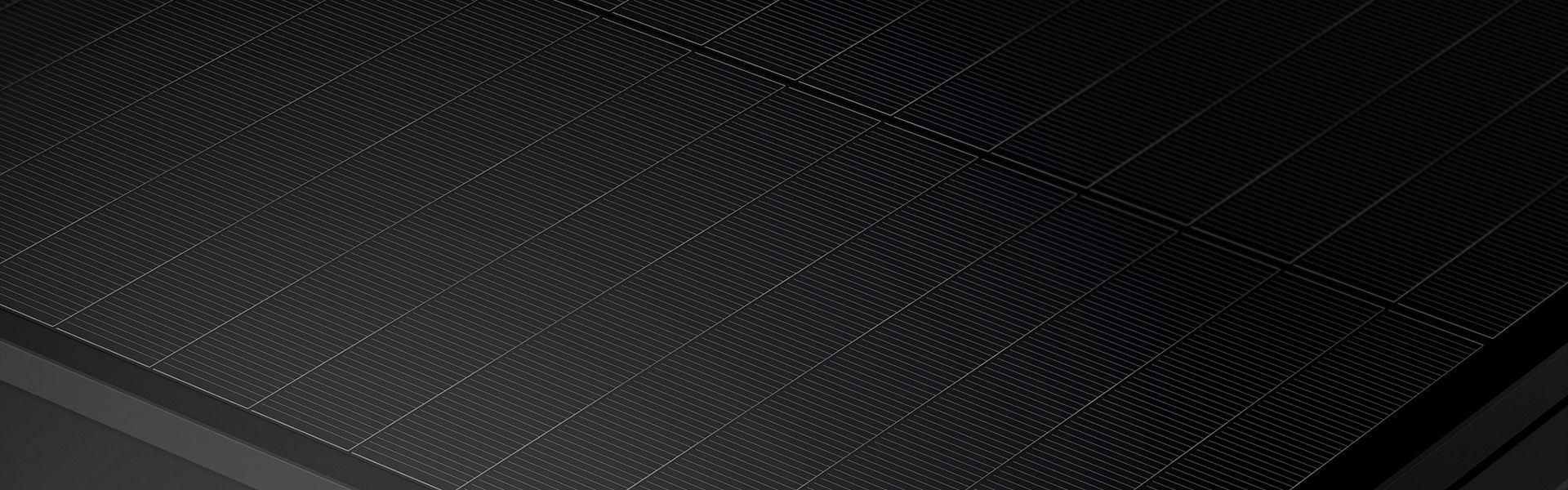 Performance solar panel close up