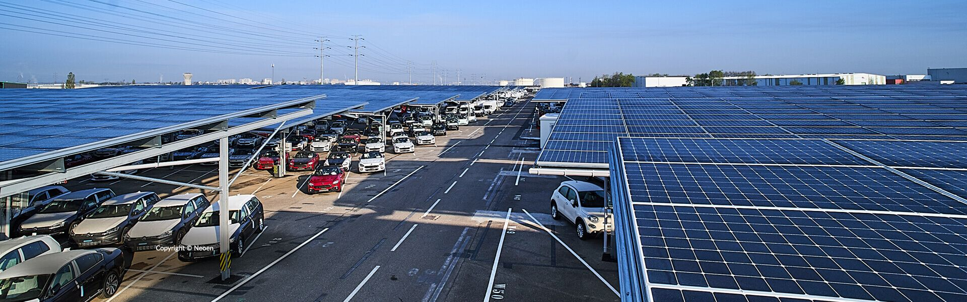 Largest Solar Carport Use Maxeon Solar Panels