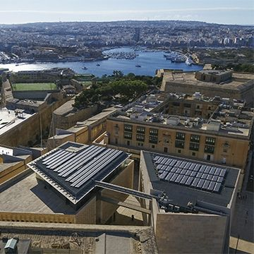 SunPower solar panels in Malta