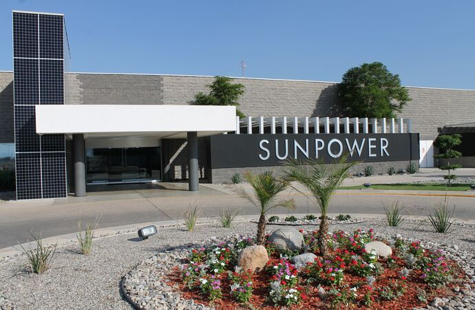 SunPower factory in Mexicali, Mexico