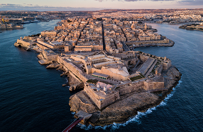 Zonne-installaties van SunPower in Malta