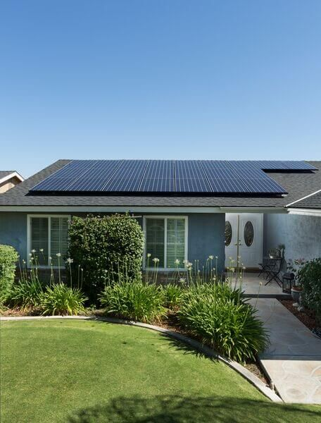 High Efficiency Solar Panels on Bakersfield Residential