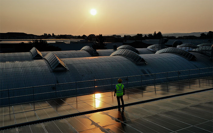 Arpa Industriale chooses SunPower Maxeon solar power for a green and innovative future.