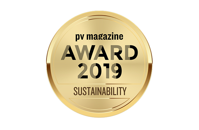 pv magazine sustainability award winner
